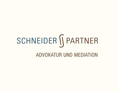 Corporate Identity Logo Schneider + Partner