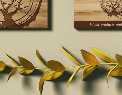WOODWIDE || Logo, Business card design, Branding ||