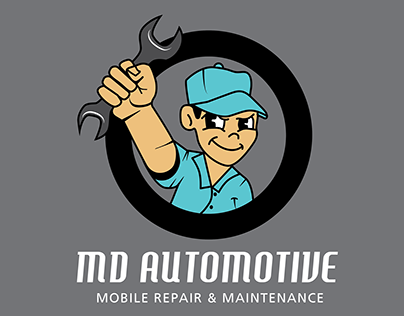 Business Card- MD Automotive in Austin, Texas