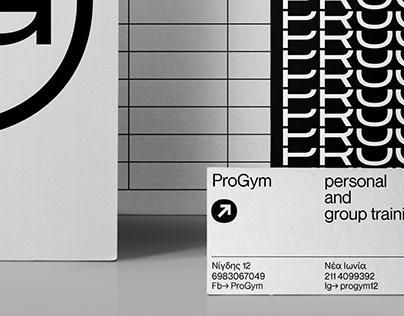 ProGym Logo Design and Corporate Identity
