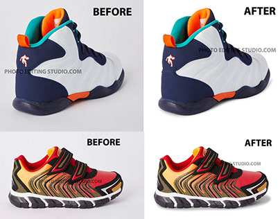 Shoe/Boot Image editing service
