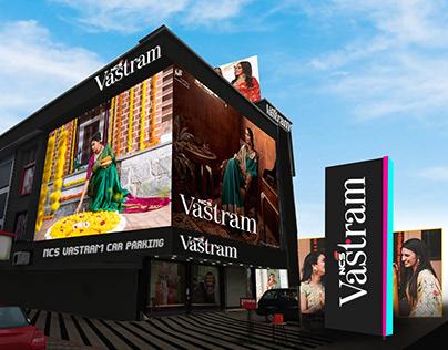 NCS Vastram New Exterior Mockup Design