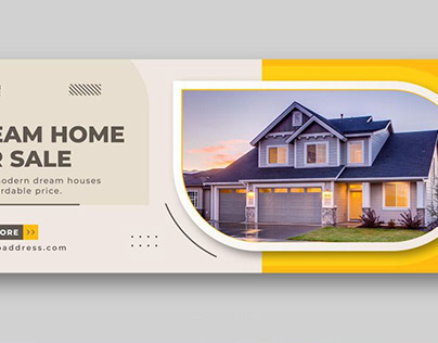 Sell home fb cover design