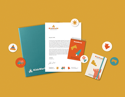 KidsWorld - Brand Identity