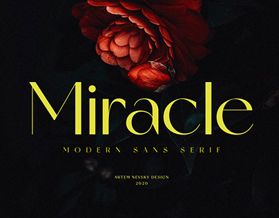 Miracle Typeface