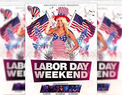 Labor Day Weekend – Premium Flyer + Facebook Cover
