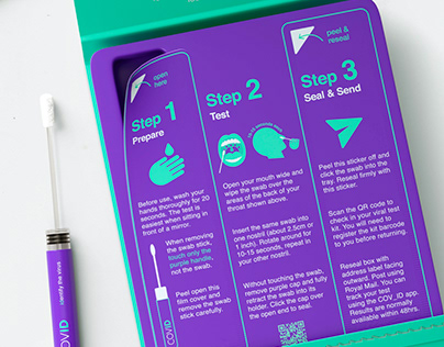 COVID-19 Home Testing Kit Concept Revealed