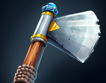 game items ax, sword