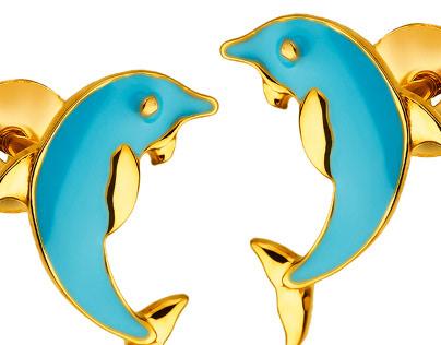 Earrings, pendants by jewelleryphoto