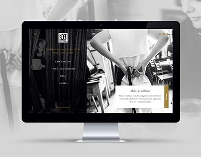 Cafe Camelot - Restaurant Web/UI Concept
