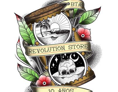 10 años Revolution Store