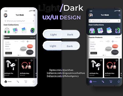 LIGHT/DARK MODE UXUI DESIGN