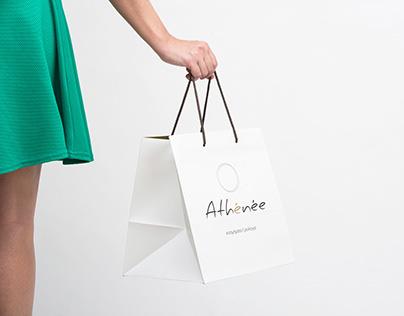 Athénée | Jewelery & Wathes // Brand design