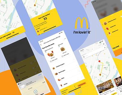 McDonald`s Pick up service - Redesign