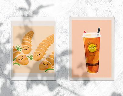 Bonpas Bakery & Coffee   Illustration
