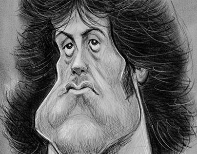 John Rambo Caricature