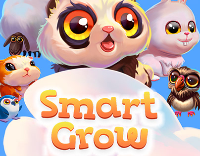 Smart Grow. Math for Toddlers (2 game levels)