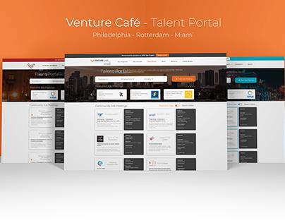 Venture Café - Talent Portal - 2019
