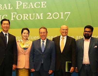 Kartikeya Sharma at Global Peace Economic Forum 2017