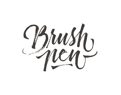 Brush Pen Letters