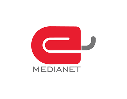 Media Net Co. logo design