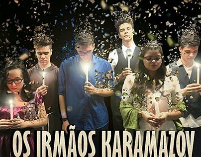"Cartazes Teatro ""Irmãos Karamazov"""