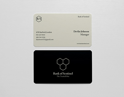 Business Card Design ( Type-Bank )