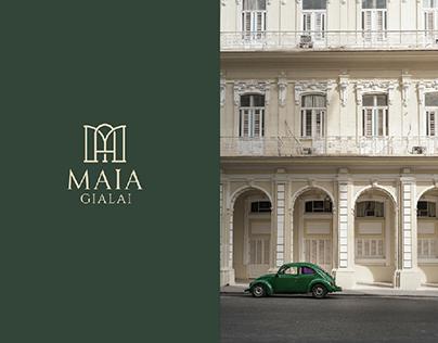 MAIA GIALAI - Brand Identity