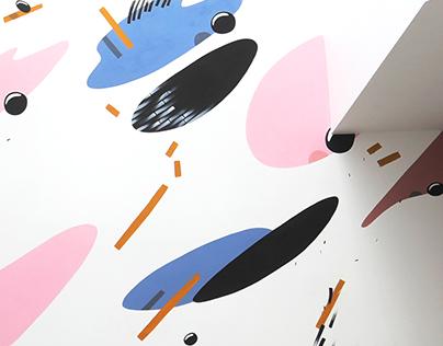 MATTER / interior mural