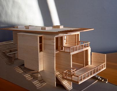 Proyecto casa Vichuquén