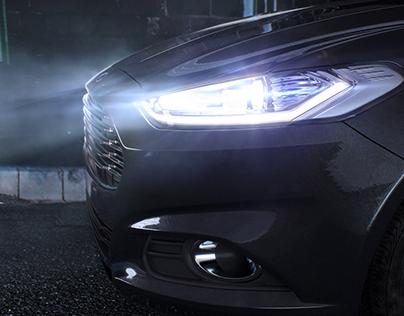 Ford at Night