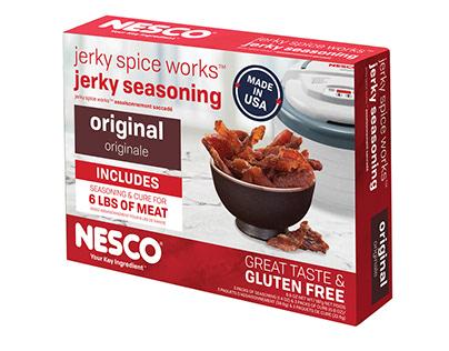 NESCO Packaging: Jerky Seasoning