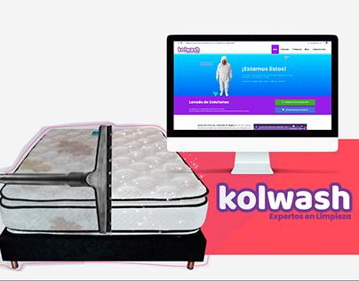 Diseño Website - Kolwash