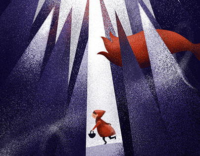 Little Red Riding Hood | Illustration