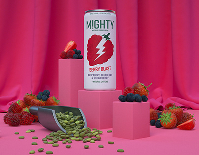 M!GHTY Natural Energy - Berry Excitable Energy