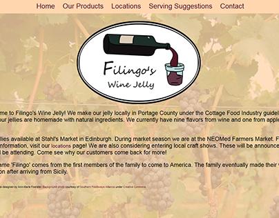 Filingo's Wine Jelly
