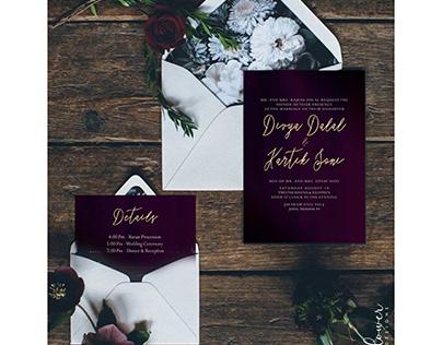 WEDDING E-INVITES