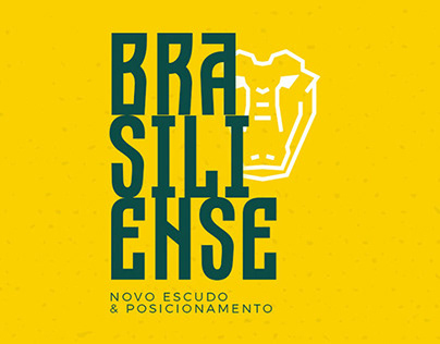 Brasiliense F.C. - Novo Escudo e Posicionamento