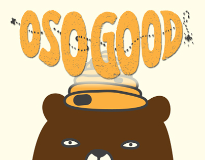 OSO GOOD Honey - Branding and Label Design