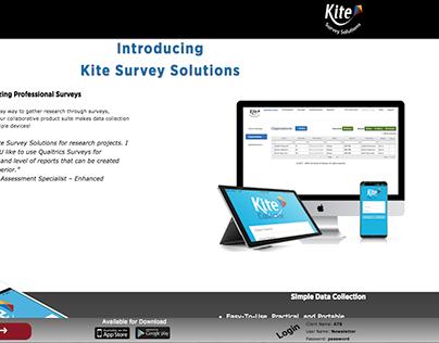 Survey Solutions Announcement Website
