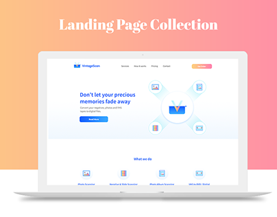 Landing Page Collection // 2017