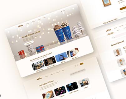 Caffè Nero Web UK • UX UI Design