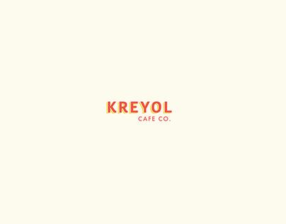 Kreyol Cafe Co Branding