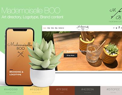 Brand Identity & Webdesign for e-commerce website
