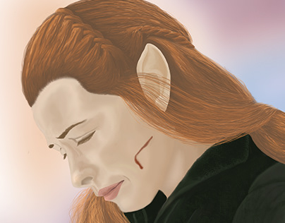 Digital Art - Tauriel