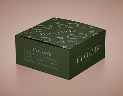 'HEY CLOVER' : BRAND IDENTITY & PACKAGING DESIGN