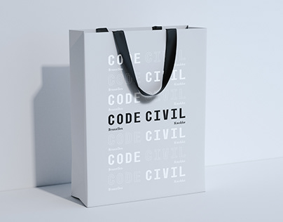 Code Civil - Brand identity