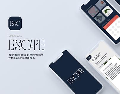 Escape : The Mindfulness App