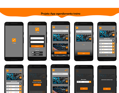 Projeto App academia (agendamento)