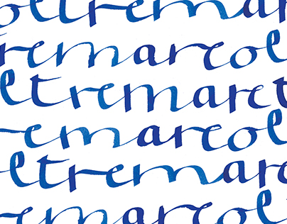 Tremare Oltremare // Calligraphy Project